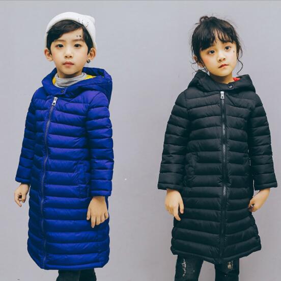 秋冬新作 子供 ジャケット 軽量 防寒 ロングコート 男女兼用 キッズ 4色 中綿ジャケット