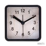 置き時計 ウィル スクエア ブラック