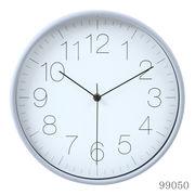 掛け時計 リアム Φ30cm グレー