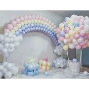 パーティー 結婚式の装飾 配置する ゴム風船 マカロン風船 誕生日 祝日 婚礼風船