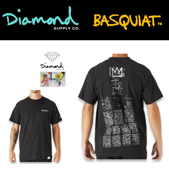 DIAMOND×BASQUIAT SIGN TEE  17045