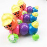 子供 七色の毛虫 子供 知覚玩具 毛虫 色 鮮やかである かわいがりになる