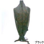 【超特激安商品】【ストール】麻混マルチストライプ日本製ストール