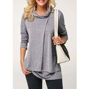 秋冬新商品730361 大きいサイズ 韓国 レディース ファッション  Tシャツ パーカー  3L 4L 5L 6L