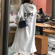 2018 秋 冬 韓国 スタイル ファッション ゆったり 韓国風 長袖 スウェット トレーナー パーカー トップス