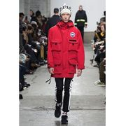 CANADA GOOSE Wネーム  COMME des GARCONS JUNYA WATANABE MAN エステル綿グログラン  限定2枚だけ!