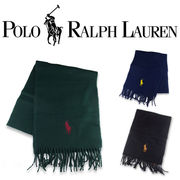 RALPH LAUREN BIG PONY EMBRODIERED SCARF  17123