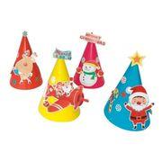 手づくりクリスマス帽子キット50人用