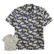 【2018SS新作】メンズ 日本製 コットンアロハシャツ サーフ hawaii