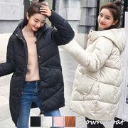 ダウンコート レディース ダウンジャケット 軽い 暖かい 中綿 コート 冬 即納