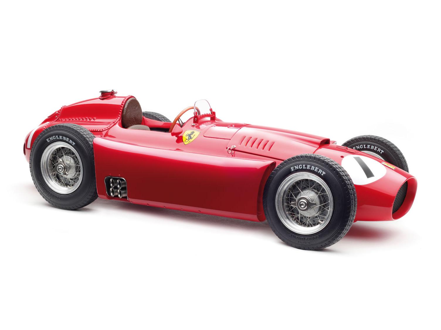 CMC/シーエムシー フェラーリ D50 1956年イギリスGP #1 Fangio
