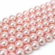 連 シェルパール ピンク 丸 6mm    品番: 9944