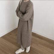 韓国風 ファッション 【秋冬新作】 激安 ハングルセレブstyle ゆったり ニット セーター
