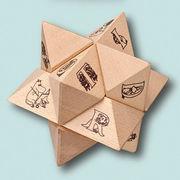 【知育玩具】ムーミン/木製立体パズル/星