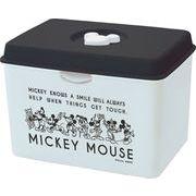 錦化成 マスクケース ミッキーマウス (BK×W)
