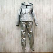 【値下げしました!】【アウトレット価格】日本製 フード付きサウナスーツ ポーチ付き