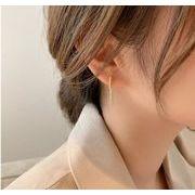 ebay気質ヒット品高級鍍金シルバー925ポストピアス レディース メンズ 大ぶりピアス エイリアンパール