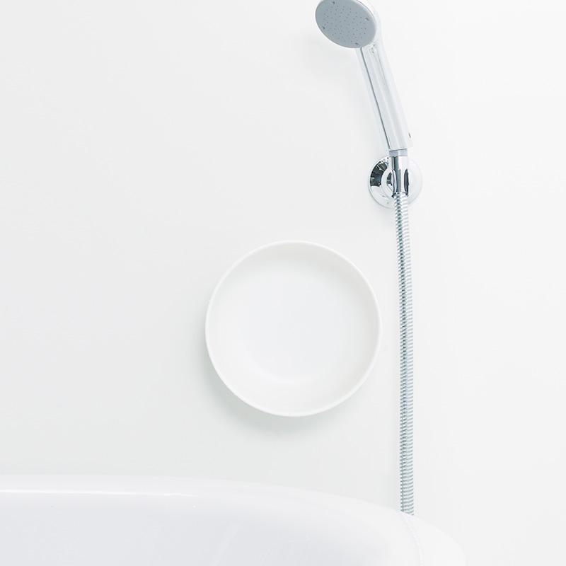 【磁石で浴室の壁面に収納】「きれいに暮らす。」マグネット湯おけ
