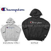 S) 【チャンピオン】 YO7470 パーカー シャニール スクリプト CHENILLE SCRIPT 全2色 メンズ