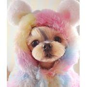 犬服 秋冬 新作 かわいい 小型 中型 ドッグウェア もこもこ服 おしゃれ  ペット服 安い