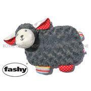 S) 【ファシー】 FASHY 65206 BLACKY PLUSH COVER 湯たんぽ ブラッキー プラッシュ カバー グレー 0.8L