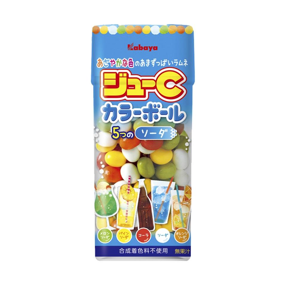 カバヤ ジューC カラーボール ソーダ 箱/ケース 160入