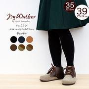 【joy walker】レディースサイズ アンクル レースアップ ソフトフットベッド シューズ 6色