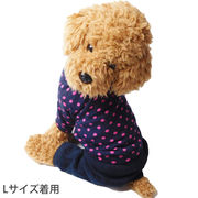 犬 服 犬服 犬の服 cheepet つなぎ カバーオール ロンパース ドット柄 ドッグウェア 洋服