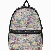 LeSportsac レスポートサック リュックサック Basic Backpack GALAXY SWIRL