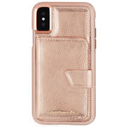 iPhoneXS/X Compact Mirror Case-Rose Gold  CM036286