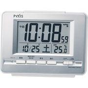 ピクシス 電波目覚まし時計 NR535W