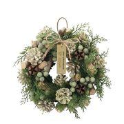 KEI:クリスマスナチュラルリース【M】