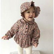 超得セール★ロンパース 赤ちゃん服★ベビーちゃん ★連体服 帽子付き