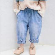 ★春新品★キッズファッション★キッズ    デニムパンツ