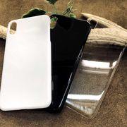プリント・デコ用素材★iPhone Xs MAX用☆ハードケース★ポリカーボネート 全3色