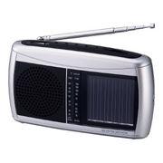 (防災・防犯)(防災グッズ・ラジオ)ソーラーラジオ 6450