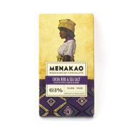 メナカオ ダークチョコレート63% カカオニブ&フルール・ド・セル