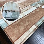 クッションシート リアルな木目立体3D壁紙発泡スチロールシール式 ビンテージウッド AB3 24枚組