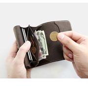 小銭入れ ミニ財布 メンズ  カード収納 レザー メンズ サイフ ウォレット 小銭 お札