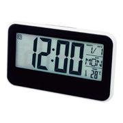 (クロック/ウォッチ)(デジタル時計)大型液晶画面 卓上クロック GF-503