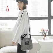 ショルダーバッグ チェック柄 ビンテージ 日系 ズックバッグ 韓国 学生 斜め掛け ハンドバッグ