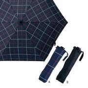 (傘)(機能傘/コンパクト傘)吸水ポーチ付雨晴兼用折りたたみ傘 I-18001