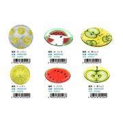 【SALE】フルーツガラスプレート M レモン  AR0604284