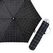 (傘)(ミニ傘/折傘)55cmプリント耐風折りたたみ傘 71-5557