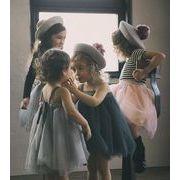 2019年新作★春夏新品★子供服★キッズ服★ワンピース★ベビー服★チュールスカート★女の子★3色80-120