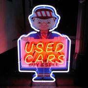 アメリカン雑貨 看板 ネオンサイン USED CAR