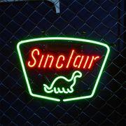 アメリカン雑貨 看板 ネオンサイン SINCLAIR シンクレア