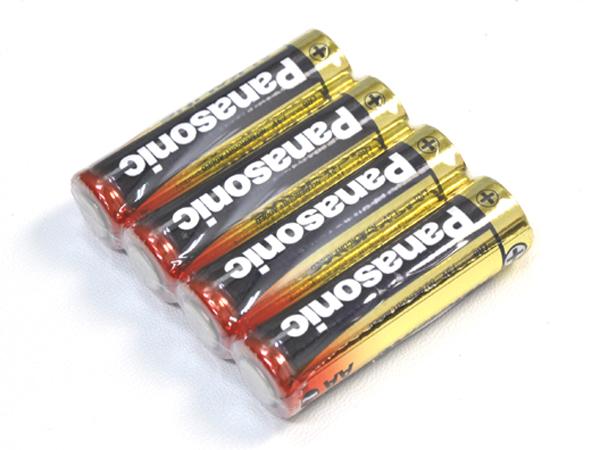 売れ筋 業務用 家庭用 防災グッズ 災害 防災 緊急時 乾電池 パナソニックアルカリ 単3乾電池×4本セット