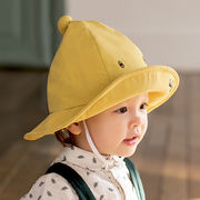 格安!INS春夏キッズ帽子◆キャップ◆紫外線対策◆日焼け止め◆UVカット◆バケットハット◆刺繍
