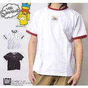 【19SS新作】【シンプソンズ】BARTリンガーTシャツ